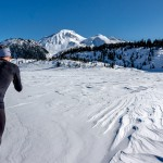Winter Hiking on Garibaldi Lake